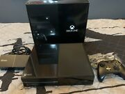 Microsoft Xbox One Day One Edition 500gb Black Console With Box No Kinect