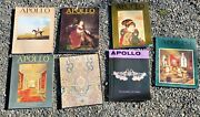 Apollo The International Magazine Of Arts And Antiques - Lot Of 7 - 1987-1988