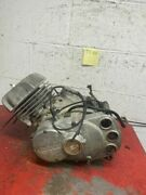 Suzuki Ts100 Front Engine Complete Elsinore For Parts/not Working Only