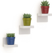 3 Pack Small Floating Shelves For Wall Shelf Decor With 2 Types Of Installation