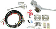 Chrome Complete Handle Bar Control Kit W/ Switches Harley Mls Rapido 1972