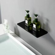 Waterfall Sink Faucet Shelf Basin Water Mixer Tap Quality Black Wall Mounted New