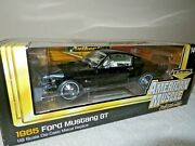 Authentics 1965 Ford Mustang Gt 2+2 Ertl 118 Opening Hood Doors And Trunk Nice