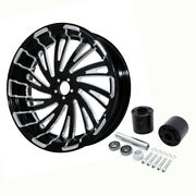 18and039and039 X 5.5and039and039 Rear Wheel Rim Hub Fit For Harley Touring Street Glide 2008-2021