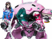 New Limited Edition Blizzard Overwatch Games D.va With Meka 20.3 Premium Statue