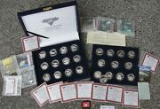 North American Fishing Club National Grand Slam 241 Oz Pure .999 Silver Rounds