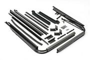 1988-1995 Jeep Wrangler Yj Soft Top Main Frame And Mounting Hardware Channel Kit