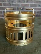 Brass Svea 123 123r Optimus Stove Windscreen And Pot Support. Never Used.
