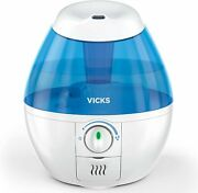 Vicks Mini Filter Free Cool Mist Humidifier Small Humidifier For Bedrooms,...