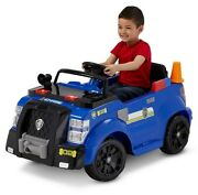 Nickelodeonand039s Paw Patrol Chase Police Cruiser 6-volt Ride-on Toy By Kid Trax