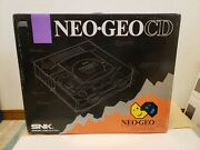 New Neo Geo Cd Console System Snk Japan Collectors Item - 100 Off