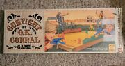 Vintage 1973 Ideal Toys Gunfight At The Ok Corral Game Shooting Gallery