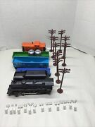 Lionel Dc Powered 8903 Locomotive And Tender Cars Accessories