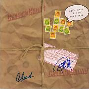 Cheech Marin And Tommy Chong Autographed Let's Make A New Dope Deal Album Jsa