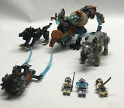 Lego Chima Lion Rhino Panther Completed W Figures