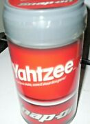 Snap On Yahtzee Classic Shake Score Shout Dice Hasbro Collectible Game New