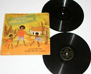 1946 Little Sambo And The Twins Rca Victor 2 Record Story Set 10 Black Americana