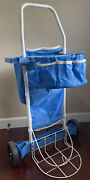 Vertex Yard Garden Project Cart Outdoor Lawn Tool Removable Bags Organizers
