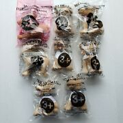 Lot Of 8 Vintage Taco Bell Chihuahua Talking Plush Dog Toys Most Sealed All Work