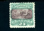 Usastamps Unused Fvf Us 1875 Pictorial Re-issue Scott 130 Rg Nh No Grill