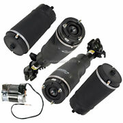Front Air Struts And Air Springs W/ Compressor For Land Rover Pair Arnott