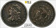 1830 Capped Bust Half Dime Lm3 R2 Pcgs+cac Xf45 Gorgeous Popular Grade
