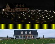 Lawn Lights Illuminated Christmas Outdoor Decorations Durable Brilliant At Night
