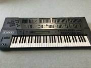 Roland Jd-800 Synthesizer Keyboard Power Cable Hard Case Vintage Working Black