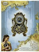 Beauty And The Beast Live Action Cogsworth Clock. Limited Edition Of 2000