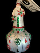 2021 Sold Out Neiman Marcus Edwardian Noel Patricia Breen Ornament