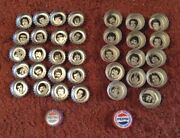 1980-81 Pepsi Montreal Canadiens Bottle Cap Lot Of 36 Two Different Types