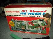 Gilbert American Flyer Train Set All Aboard With Box 1963 Patent All Nice