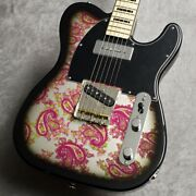 Psychederhythm Standard-t Limited -black Pink Paisley- Guitar From Yaq473