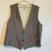Amsterdam Couture Scotch And Soda Vest Xxl/54 Made In Holland
