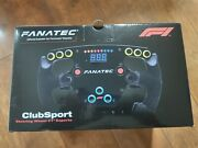 Fanatec Clubsport Formula 1 F1 Esports Steering Wheel In Excellent Condition