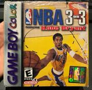 Game Boy Color Nba 3 On 3 Featuring Kobe Bryant