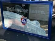 Chicago Cubs Belive Or Leave Old Style Beer Mirror Sign Wrigley Field Baseball