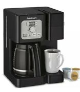 Cuisinart Coffee Center 12-cup Coffee Maker And Single-serve Brewer, Ss-12 | Black