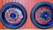 Warp9 Supermoto Wheels And Tires For Yamaha Drz400s/e/se In Stock Ready To Ship