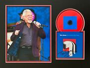 Tom Jones Signed Cd Mount Photo Display Music Autograph Surrounded By Time 4