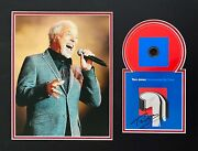 Tom Jones Signed Cd Mount Photo Display Music Autograph Surrounded By Time 3