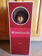 American Girl Ivy Ling W/ Earrings Displayed Condition In Box Retired