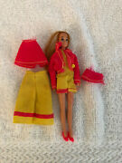 Mattel Fashion Teeners 1971 Ultra Rare Doll,moreen With Clothes