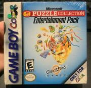 Game Boy Color Microsoft The 6 In 1 Puzzle Collection Entertainment Pack