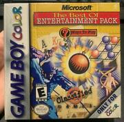 Game Boy Color Microsoft The Best Of Entertainment Pack