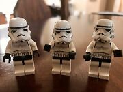 Lego Star Wars 7201 7146 7139 10123 Stormtroopers X 3 Lot New Free Shipping