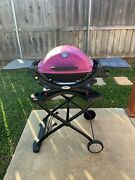 Weber Q 1200 Outdoor Grill With Stand And Accessories - Local Pickup Only