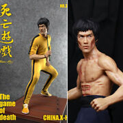 China.x-h Bruce Lee Game Of Death + Enter The Dragon 1/6 Statue Model Display