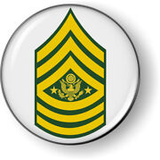Emblem Car Sticker Decal No Bezel - Enlisted Soldiers Ranks, Insignia Us Army