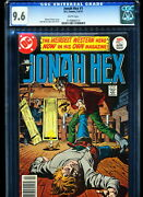 Jonah Hex 1 Cgc 9.6 Jose Garcia-lopez Cover And Art White Pages